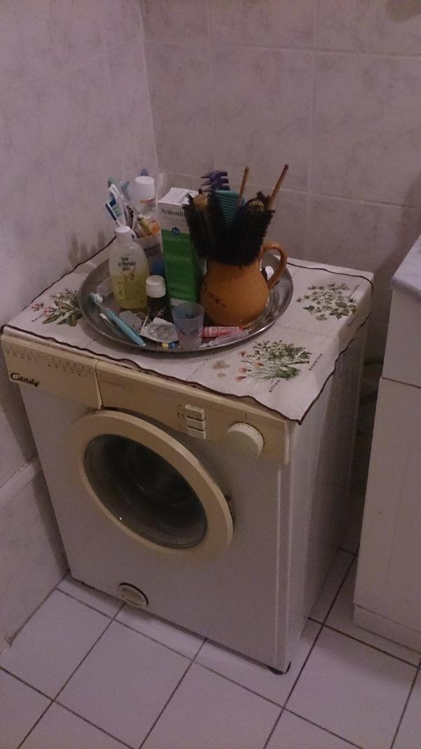 Recyclage, Récupe & Don d'objet : lave linge candy
