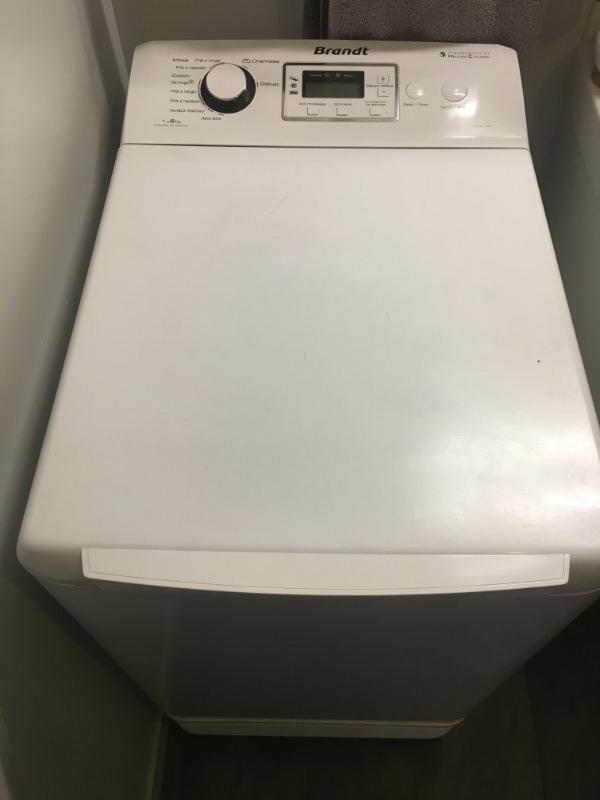 Recyclage, Récupe & Don d'objet : sèche linge brandt