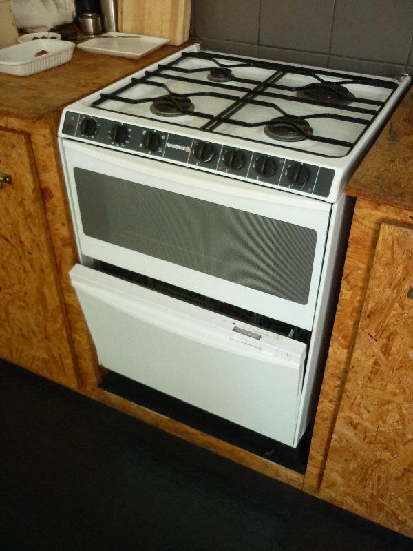 Recyclage, Récupe & Don d'objet : combine lave vaisselle gazinière rosières