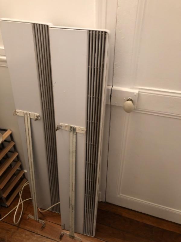 Recyclage, Récupe & Don d'objet : 2 radiateurs électriques (avec résistances...