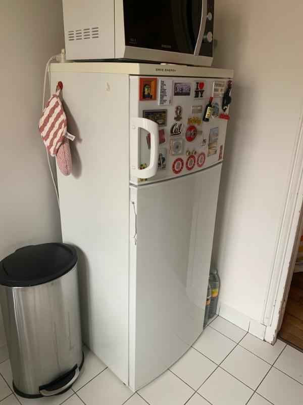Recyclage, Récupe & Don d'objet : frigo avec congélateur