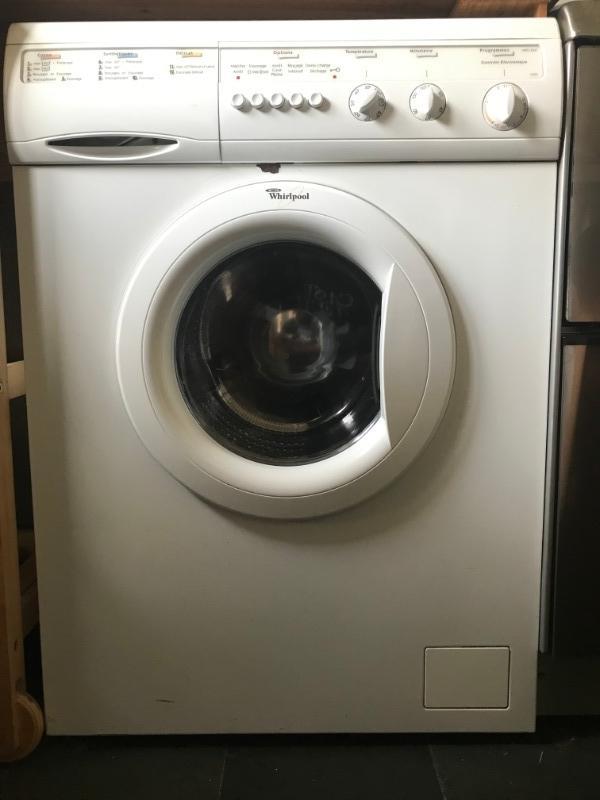 Recyclage, Récupe & Don d'objet : machine à laver whirlpool