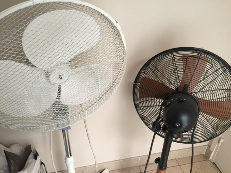 Recyclage, Récupe & Don d'objet : 2 ventilateurs