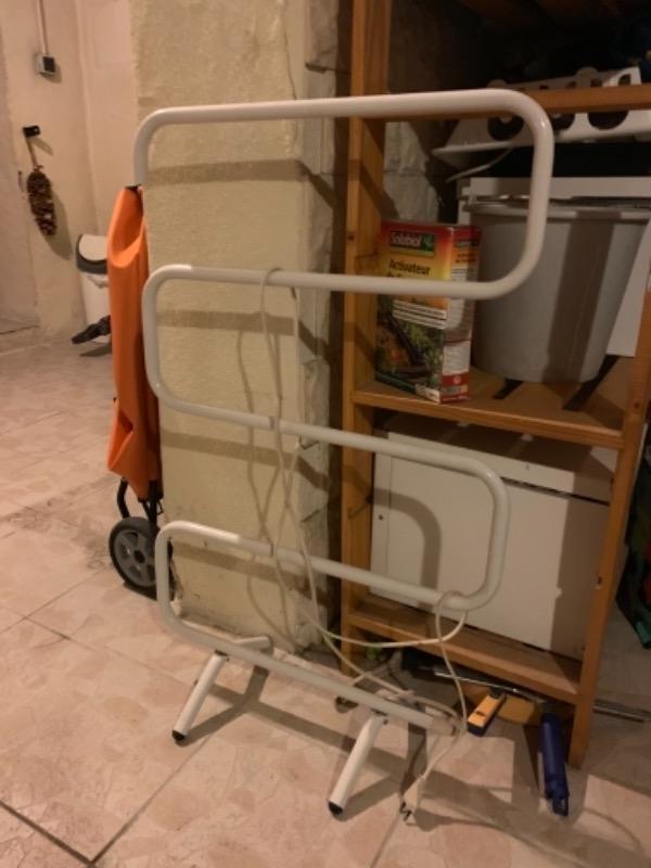 Recyclage, Récupe & Don d'objet : radiateur électrique chauffe serviette