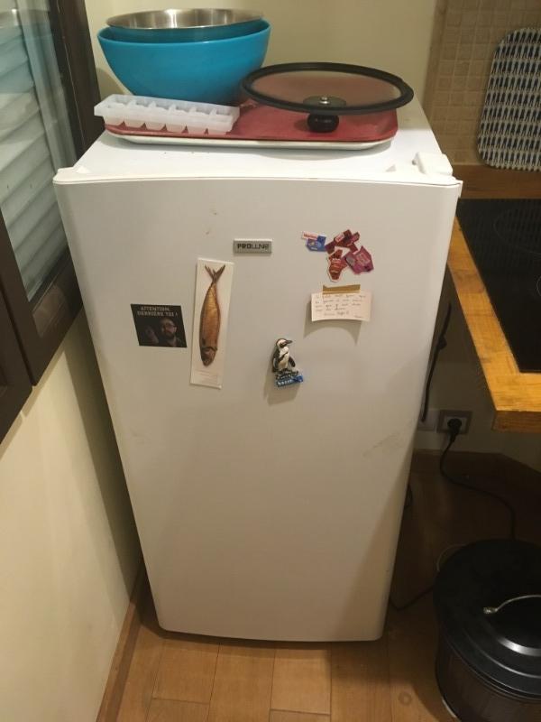 Recyclage, Récupe & Don d'objet : frigo proline