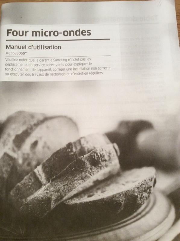 Recyclage, Récupe & Don d'objet : four micro onde combiné