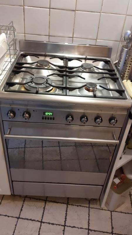 Recyclage, Récupe & Don d'objet : cuisinière gaz en inox