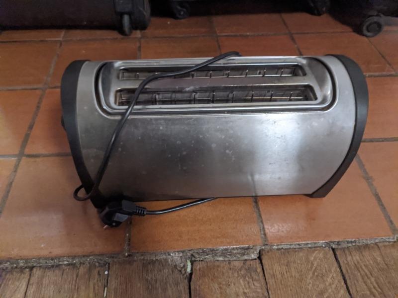 Recyclage, Récupe & Don d'objet : toasteur