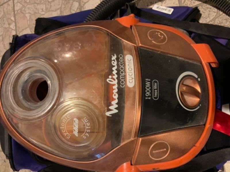 Recyclage, Récupe & Don d'objet : aspirateur sans sac fonctionnel