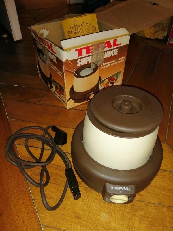 Recyclage, Récupe & Don d'objet : appareil à fondue tefal