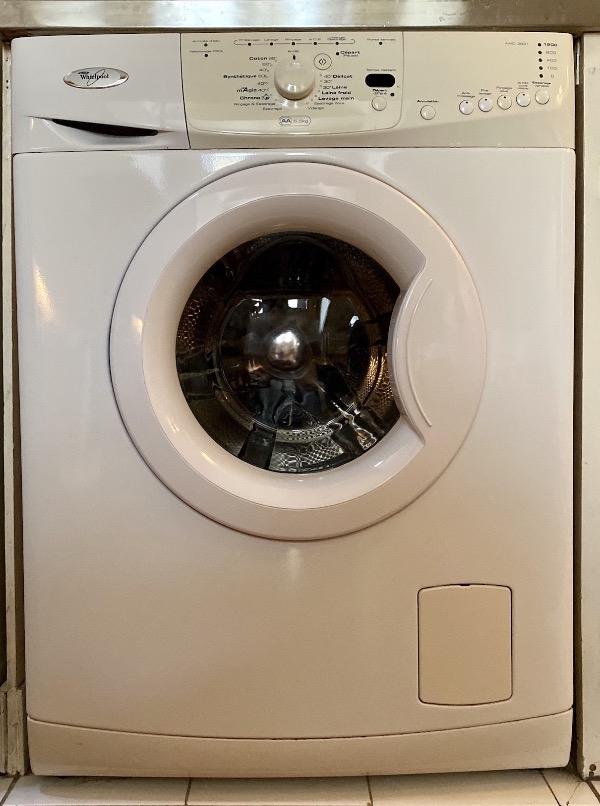 Recyclage, Récupe & Don d'objet : lave linge à chargement frontal (hublot) w...