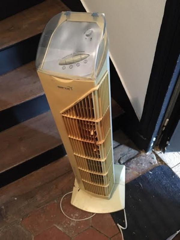 Recyclage, Récupe & Don d'objet : ventilateur colonne