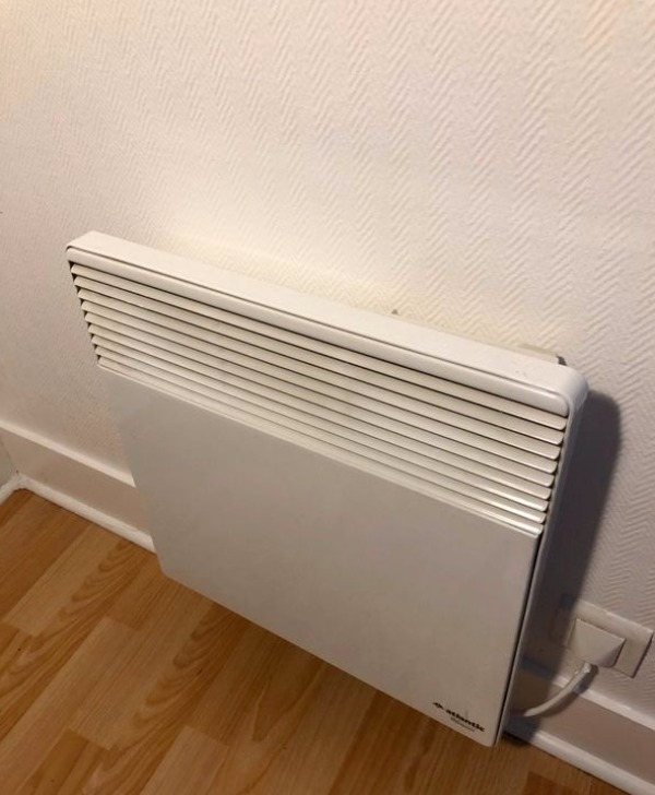 Recyclage, Récupe & Don d'objet : 3 radiateurs électriques - atlantic