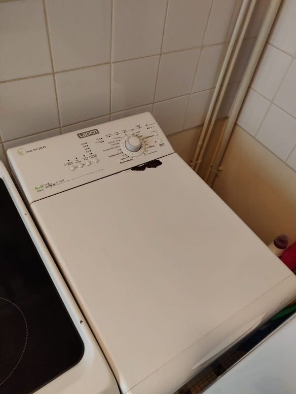 Recyclage, Récupe & Don d'objet : lave-linge de marque laden (5kg)
