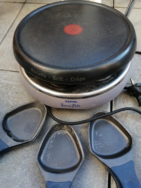 Recyclage, Récupe & Don d'objet : raclette grill crêpe tefal