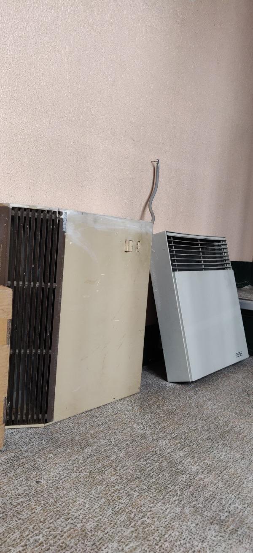 Recyclage, Récupe & Don d'objet : 2 radiateurs convecteurs et une installation de hotte