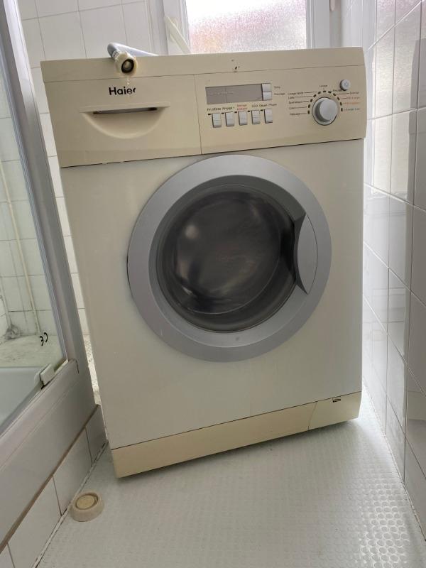 Recyclage, Récupe & Don d'objet : machine à laver séchante
