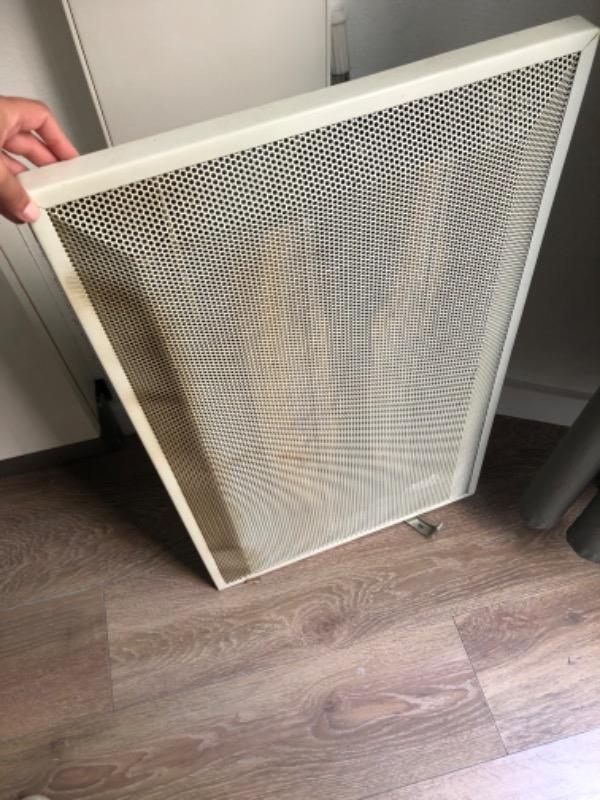 Recyclage, Récupe & Don d'objet : chauffage électrique ancien à nettoyer, fo...