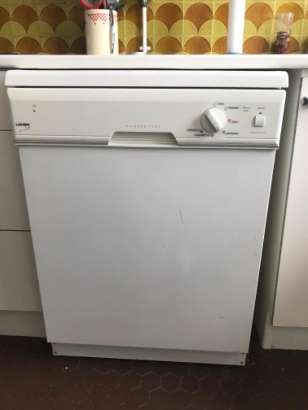 Recyclage, Récupe & Don d'objet : lave vaisselle laden