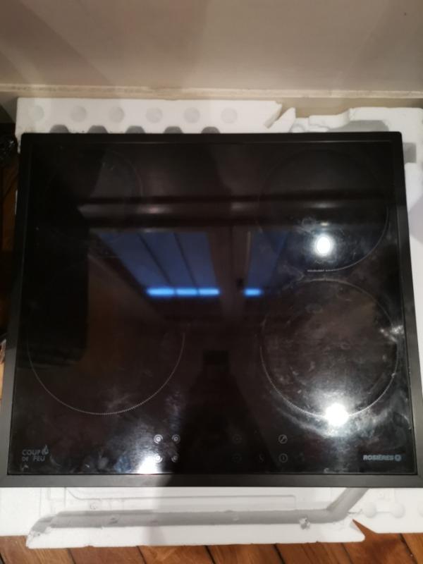 Recyclage, Récupe & Don d'objet : plaque de cuisson en vitrocéramique
