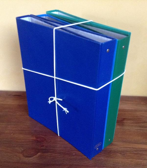 Recyclage, Récupe & Don d'objet : lot de 5 classeurs