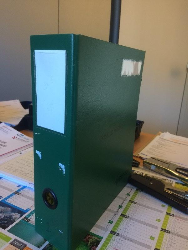 Recyclage, Récupe & Don d'objet : de classeurs