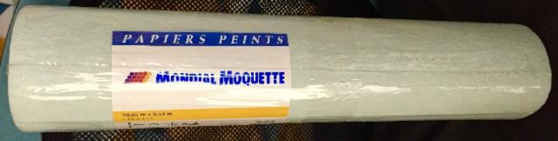Recyclage, Récupe & Don d'objet : 2 rouleaux papier peint vert clair + orang...