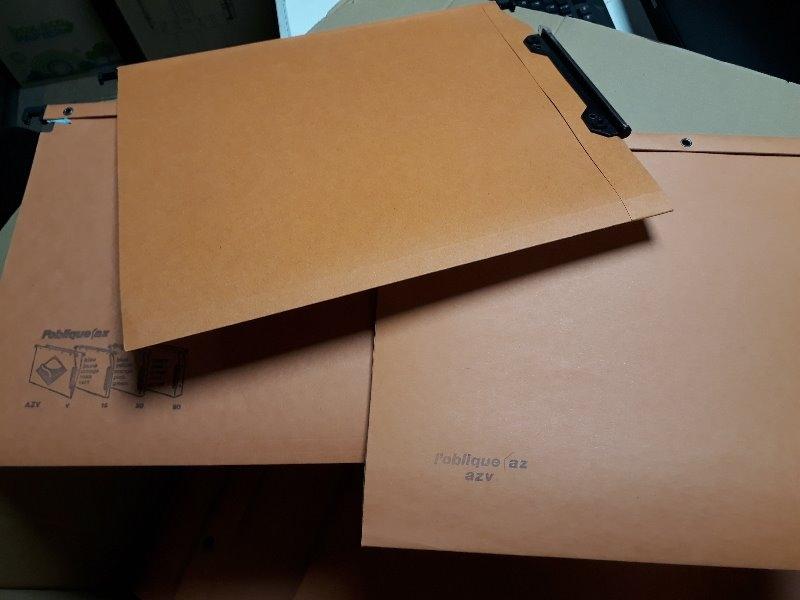 Recyclage, Récupe & Don d'objet : dossiers suspendus pour armoire
