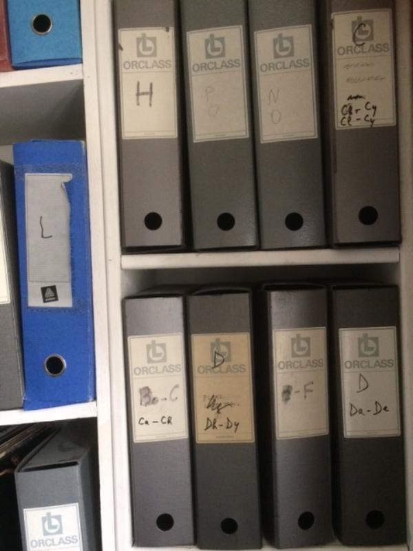 Recyclage, Récupe & Don d'objet : boîtes archives en carton épais 32 cm x 25...