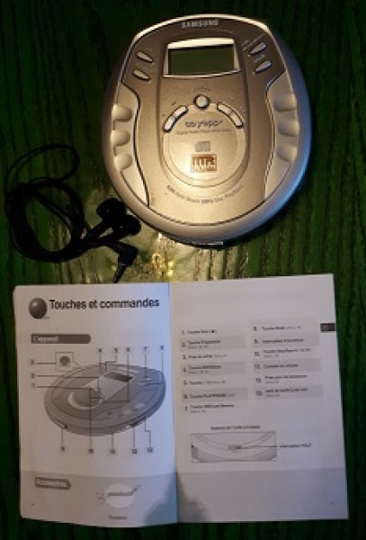 Recyclage, Récupe & Don d'objet : baladeur cd-mp3