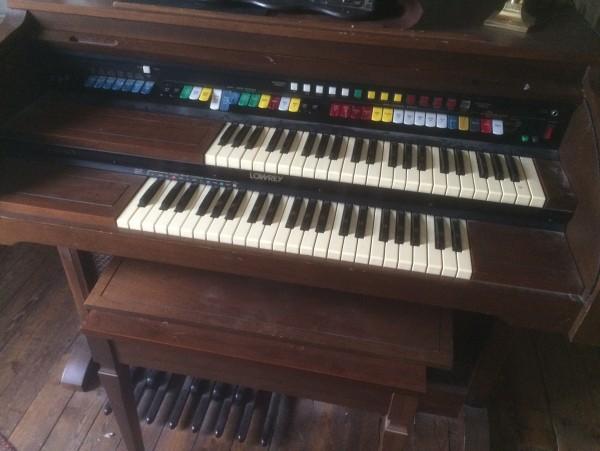 Recyclage, Récupe & Don d'objet : orgue en bois