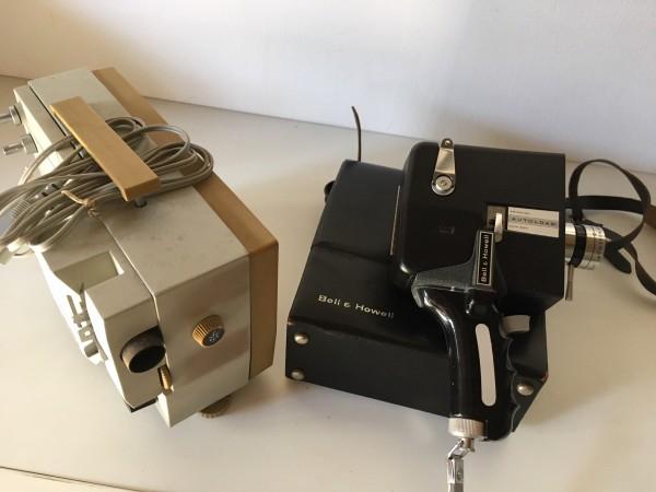 Recyclage, Récupe & Don d'objet : caméra 8mm/projecteur 8mm