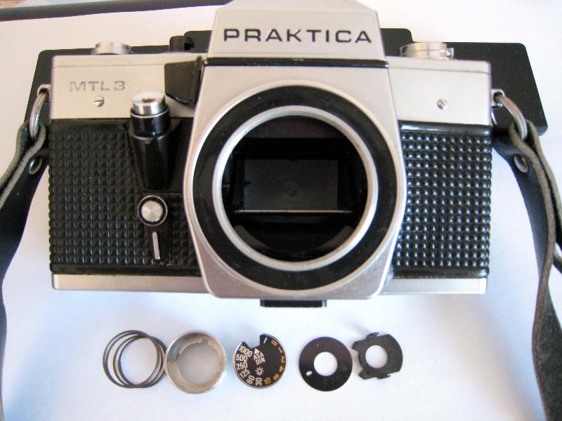 Recyclage, Récupe & Don d'objet : appareil photo argentique praktica mtl3