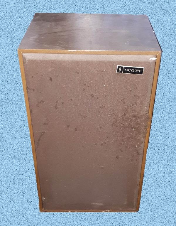Recyclage, Récupe & Don d'objet : paire d'enceintes audio scotts177