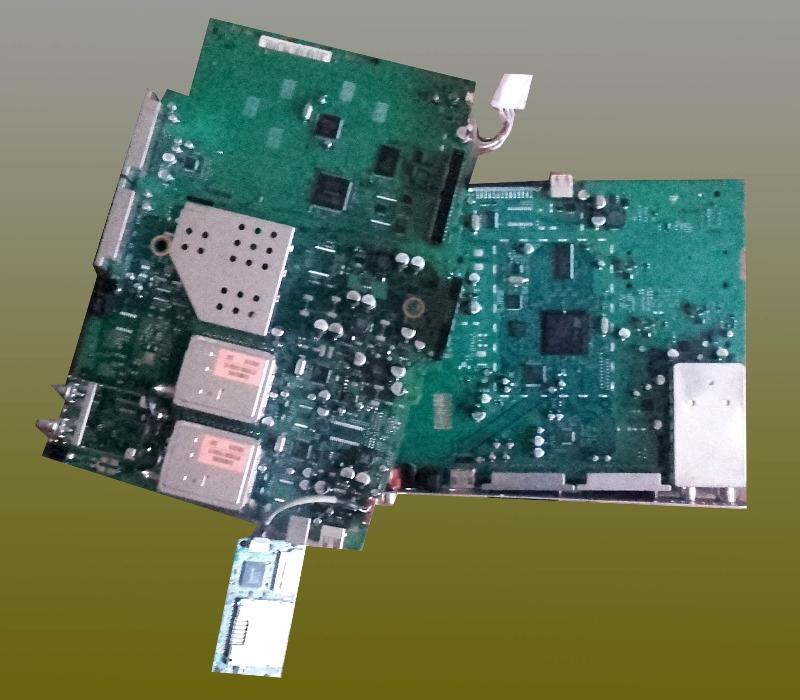 Recyclage, Récupe & Don d'objet : 2 plaques circuits pour récupération composants