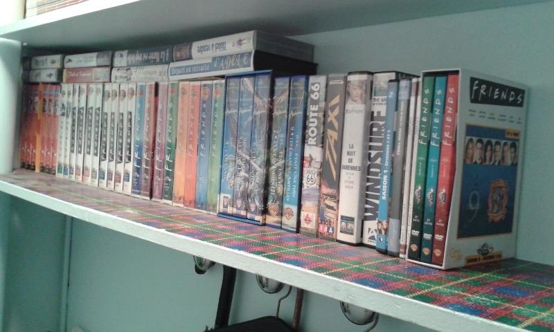 Recyclage, Récupe & Don d'objet : cassettes et dvd télévision