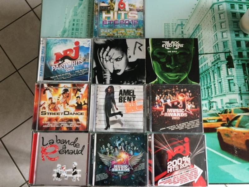 Recyclage, Récupe & Don d'objet : lot de cd divers
