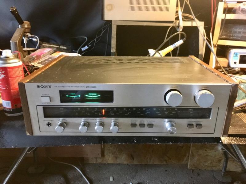 Recyclage, Récupe & Don d'objet : ampli tuner sony str-3800