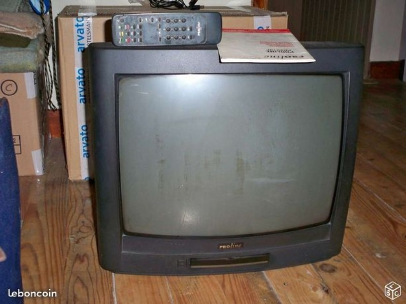 Recyclage, Récupe & Don d'objet : téléviseur proline, 56 cm (en diagonale), ...