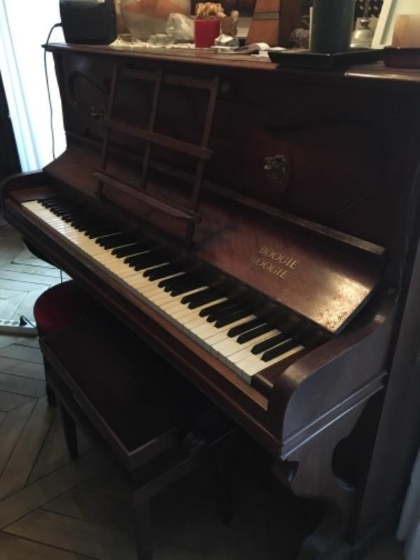 Recyclage, Récupe & Don d'objet : un piano droit