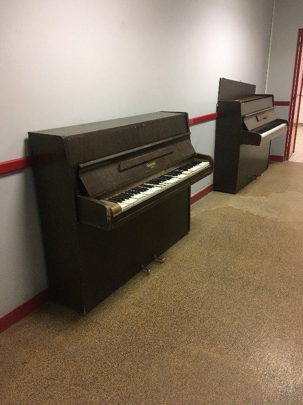 Recyclage, Récupe & Don d'objet : piano usé