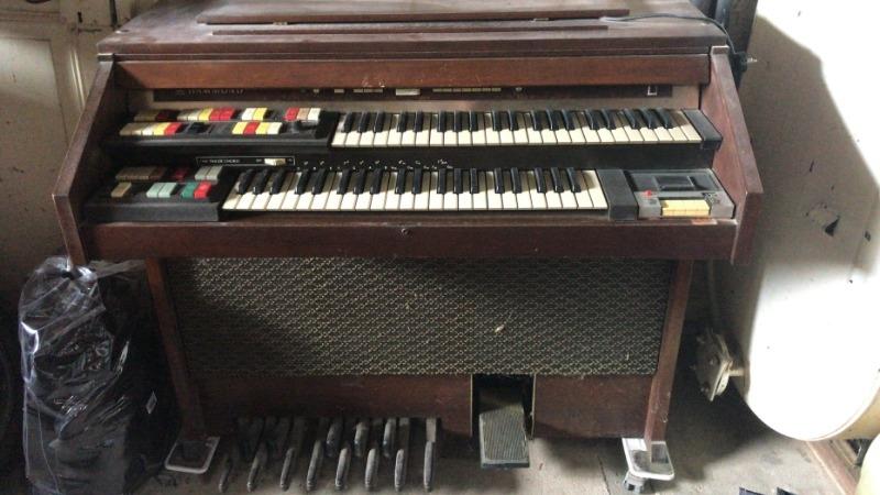 Recyclage, Récupe & Don d'objet : orgue électrique hammond