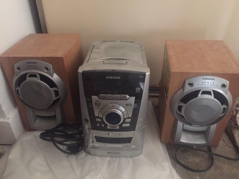 Recyclage, Récupe & Don d'objet : chaine hifi samsung modele mm39 lecteur cd