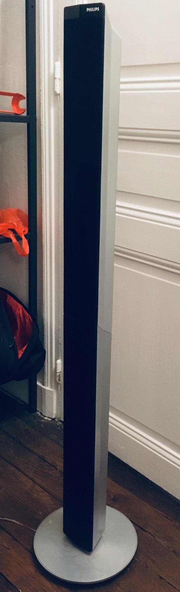 Recyclage, Récupe & Don d'objet : 2 encentes arriere philips d un home cinéma