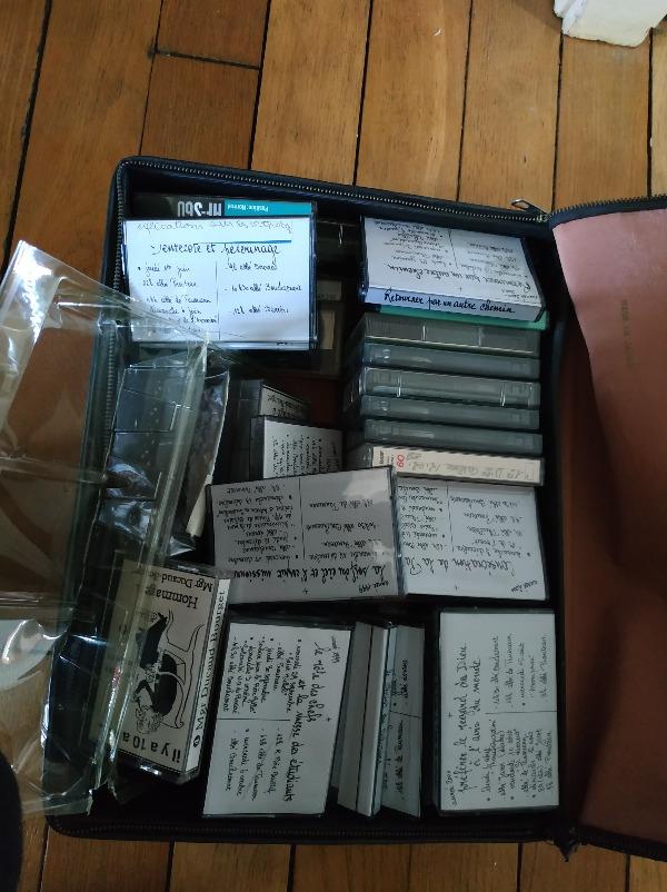 Recyclage, Récupe & Don d'objet : cassettes audio