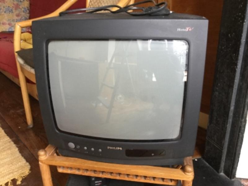 Recyclage, Récupe & Don d'objet : appareil télévision analogue