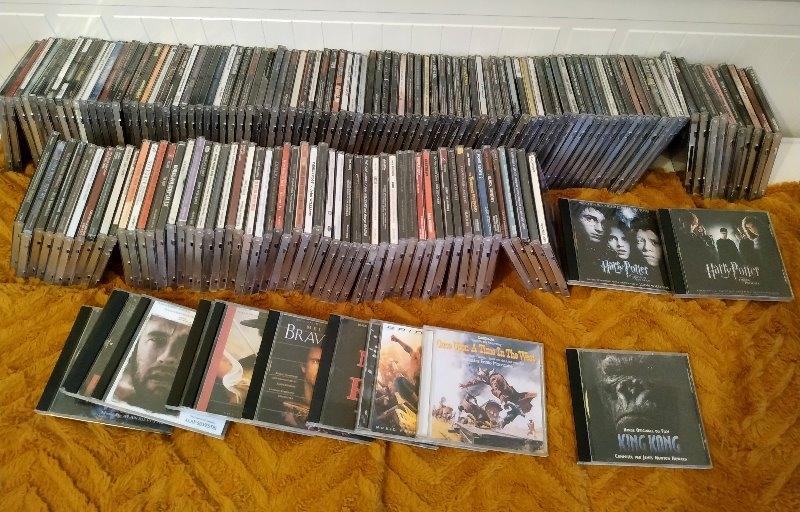 Recyclage, Récupe & Don d'objet : disques compacts de musique de films, cd ,...
