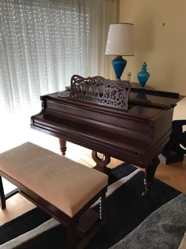 Recyclage, Récupe & Don d'objet : piano quart de queue