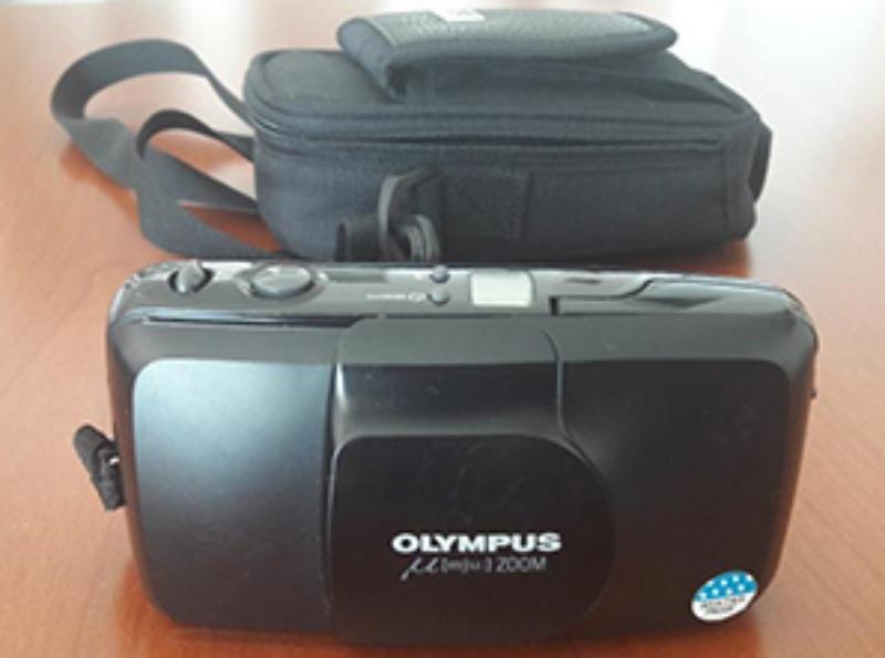 Recyclage, Récupe & Don d'objet : appareil photo argentique olympus