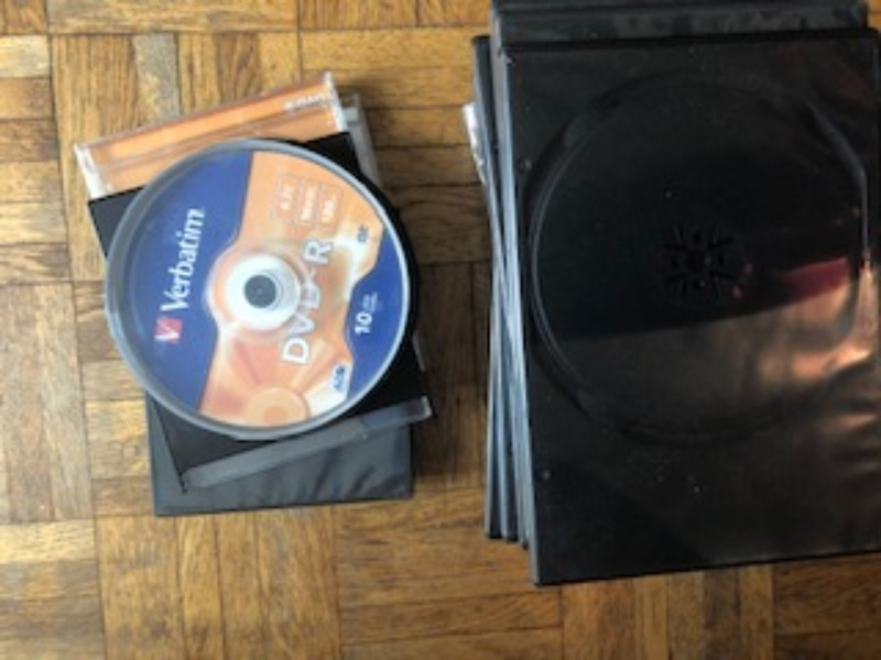 Recyclage, Récupe & Don d'objet : pochettes dvd vides
